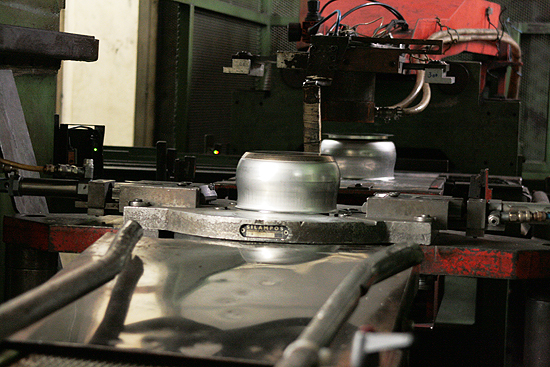 Silampos in the factory