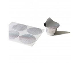 GEFU Резервни стикери за многократни кафе капсули CONSCIO, 80 броя