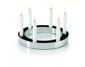 PHILIPPI Свещник за 6 бр свещи RING