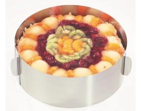 GEFU Кръгла форма за торта с регулиране TONDO - Ø16 - Ø32 см. - h - 8,5 см.