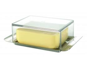 GEFU Кутия за масло с прозрачен капак BRUNCH