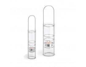 BLOMUS Свещник LUMBRA - матирано стъкло