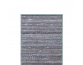BLOMUS Бамбукова постелка за баня RELAX - цвят сив - 50x80 см