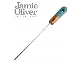 JAMIE OLIVER Прибор за тестване на готовност на тестени изделия - с декор в атлантическо зелено