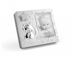 """ZILVERSTAD Музикална рамка за снимка със сребърно покритие """"Бебе"""""""