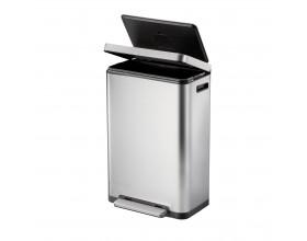"""EKO Кош за отпадъци с педал """"X-CUBE""""- 45 литра - мат"""