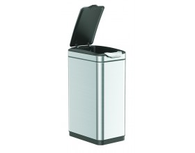 """EKO Кош за отпадъци с TOUCH механизъм """"TINA""""- 30 литра - мат"""