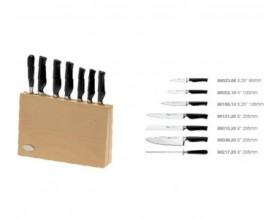 """IVO Cutelarias Комплект ножове със стойка """"PREMIER"""" – 7 части"""
