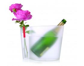 L`ATELIER DU VIN  Охладител за бутилки с ваза - плаксиглас