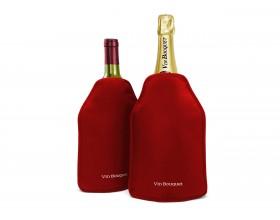 Vin Bouquet Охладител за бутилки с гел - червен