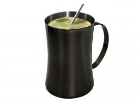 Vin Bouquet Метална чаша за коктейли 550 мл. - черна