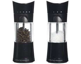 """COLE & MASON Комплект мелнички за сол и пипер """"HARROGATE"""" - с механизъм за прецизност - 15,4 см."""