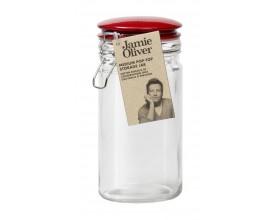 JAMIE OLIVER Буркан за съхранение - среден - червен капак JK 8010