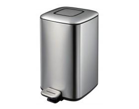 """EKO Кош за отпадъци с педал """"REGENT"""" - 12 литра - мат"""