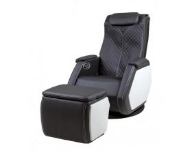 CASADA Масажен стол SMART V + масажна табуретка - цвят черен