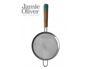 JAMIE OLIVER Сито - Ø14см , неръждаема стомана/ дърво, атлантическо зелено