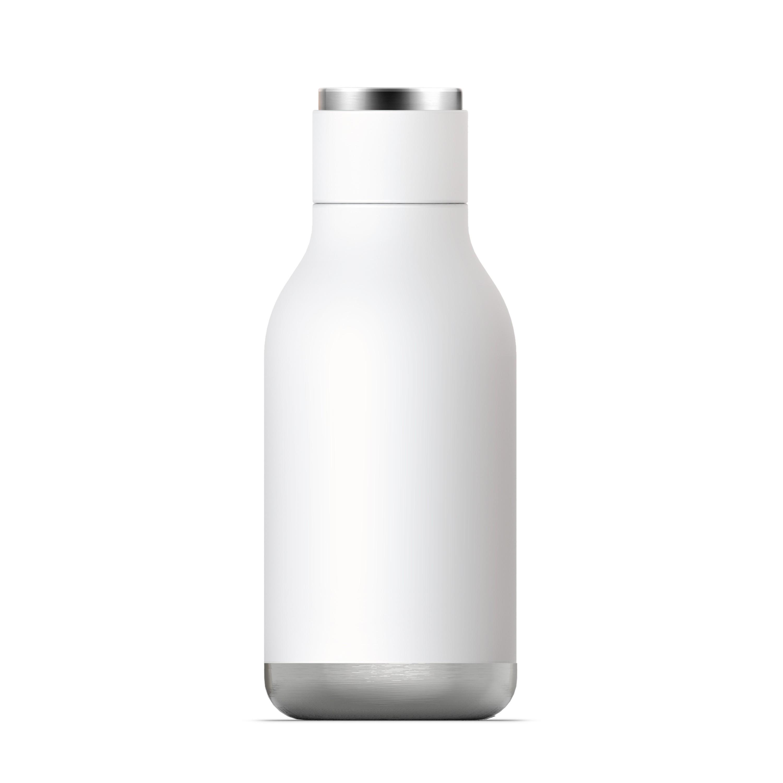 """8715b5e5451 ASOBU Двустенна термо бутилка с вакуумна изолация """"URBAN"""" - 460 мл - цвят  бял"""