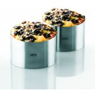 GEFU Комплект от 2 пръстена за десерти и салати FORMA
