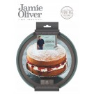 JAMIE OLIVER Вълнообразна форма с падащо дъно - Ø 20,9 см - цвят атлантическо зелено