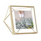 "UMBRA Рамка за снимки ""PRISMA"" - цвят месинг - 10х10см"