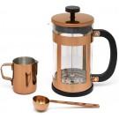 LEOPOLD VIENNA Комплект за кафе от 3 части - 800 мл - цвят меден