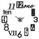 "UMBRA Стенен часовник ""NUMBRA"" - черен"