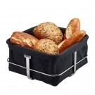 GEFU Панер за хляб BRUNCH - квадратен - черен
