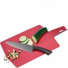 GEFU Сгъваема дъска за рязане LAVOS - цвят малинено червен
