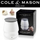 COLE & MASON Канистер за съхранение на чесън