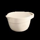 """EMILE HENRY Керамична купа за смесване """"MIXING BOWL""""  - 2,5 л - цвят екрю"""