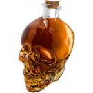 Vin Bouquet Стъклена бутилка за алкохол - череп - 1 л.