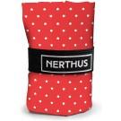 """Nerthus Чанта за пазаруване """"Сърчица"""" - червена"""