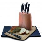 JAMIE OLIVER  Комплект ножове - 5 ножа + блок