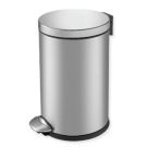 """EKO Кош за отпадъци с педал """"LUNA"""" - 3 литра - мат"""