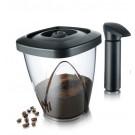 TOMORROW`S KITCHEN Комплект вакуумен контейнер за кафе и чай с помпа - 1,3л
