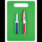 ZYLISS Комплект от 3 части - дъска за рязане, белачка, нож за белене