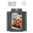JAMIE OLIVER  Квадратна форма за печене с падащо дъно - 20х20см - цвят атлантическо зелено
