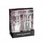 """COLE & MASON К-т мелнички за сол и пипер """"MINI CUBE"""" - 9 см."""