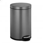"EKO EUROPE Кош за отпадъци с педал ""SERENE"" - platinum - 20 л."
