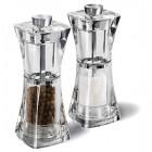 """COLE&MASON Комплект мелнички за сол и пипер """"CRYSTAL"""" - 12,5 см."""