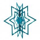 PHILIPPI 3D Коледна звезда STAR - зелена